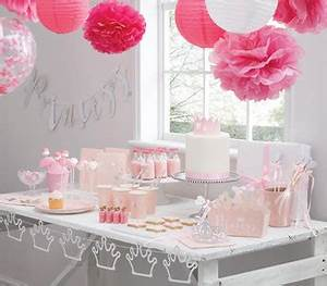 Decoration Pour Bapteme Fille : bapt me th me princesse d co de table accessoires les bambetises d co design chambre b b ~ Mglfilm.com Idées de Décoration