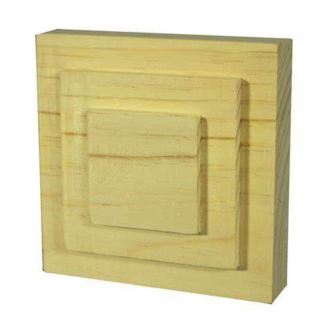 timber architrave blocks wooden corner block jar