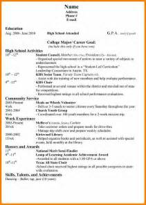 resume for college student with no work experience 9 resume awards and achievements job bid template