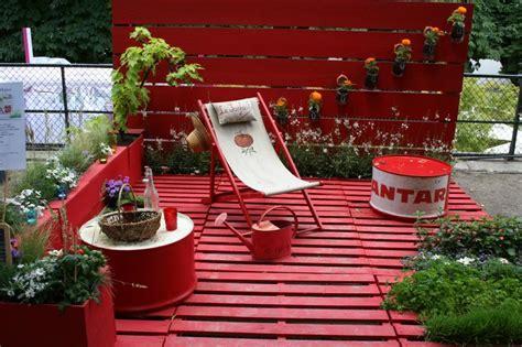 la terrasse de  sous gamm vert