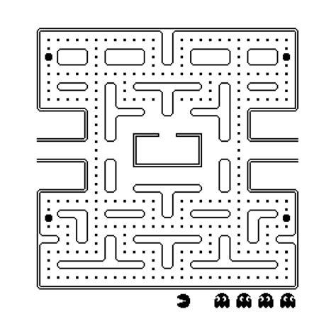 dibujos de pacman  colorear juegos gratis  cokitos