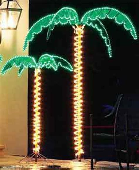 led lighted palm trees 7 foot deluxe led lighted palm tree ebay