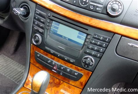 Start by turning on your vehicle and following these simple steps select your device on the display once the name registers. How to remove COMAND Stereo Radio Unit Mercedes-Benz E320 E500 E350 CLS 500 550 W211 - MB Medic