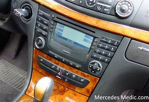 How To Remove Comand Stereo Radio Unit Mercedes