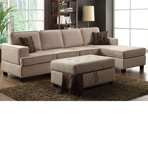 reversible sectional sofa chaise dreamfurniture com 50550 lavenita desperado morgan