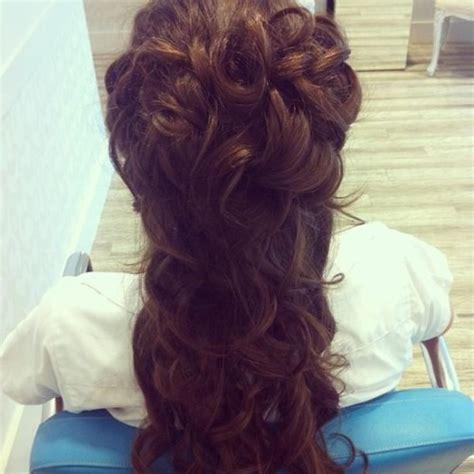 wedding hairstyles half up tumblr
