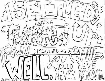 Lyrics Lyric Draw Drawings Band 5sos Word
