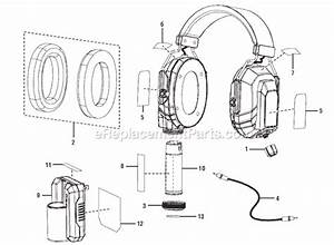 Ryobi Audio Plus Noise Suppression Headphones