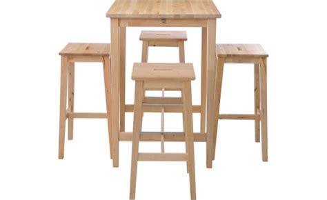 table haute de cuisine et tabouret tabouret et table haute