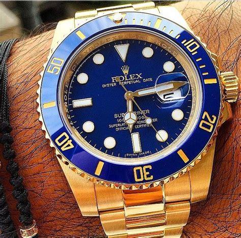 Rolex Submariner in 18k yellow gold | Rolex watches women ...