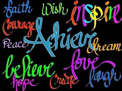 Clipart Inspirational Words Clip Quotes Motivational Digital