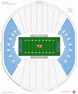 Endzone Liberty Bowl Football Seating Rateyourseats Com