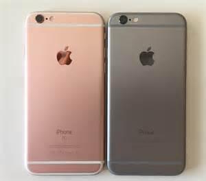 iphone rosegold iphone 6s grey vs gold gadget australia