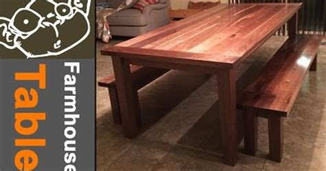 farmhouse table  traditional joinery
