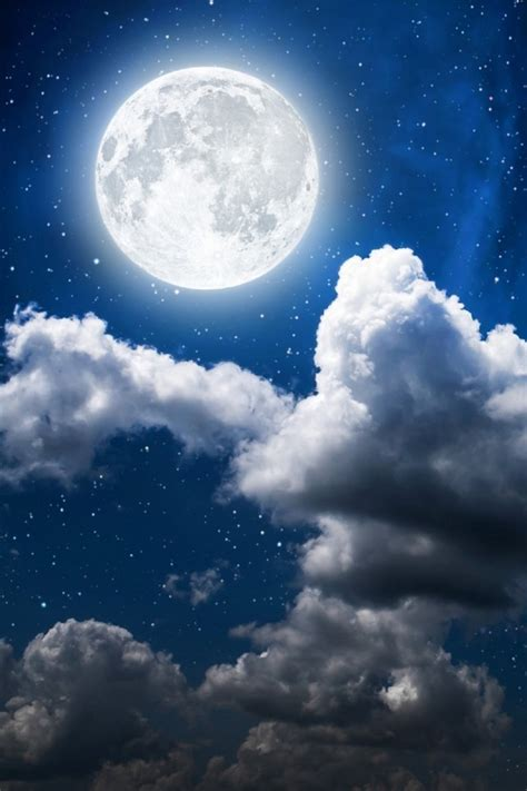Moon And Clouds Wallpaper by Wallpaper Moon Clouds Sky Moon Hd Nature 1519