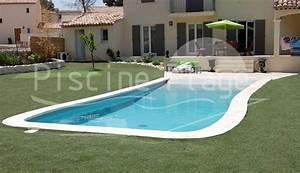 nos piscines avec plage immergee la gamme piscine plager With piscine avec plage californienne