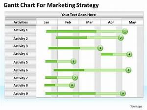 0620 Marketing Plan Gantt Chart For Strategy Powerpoint Slides