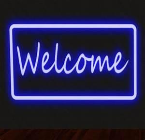Wel e Sign Neon