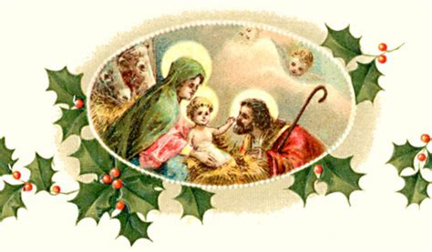 Merry Christmas Religious Clip Art