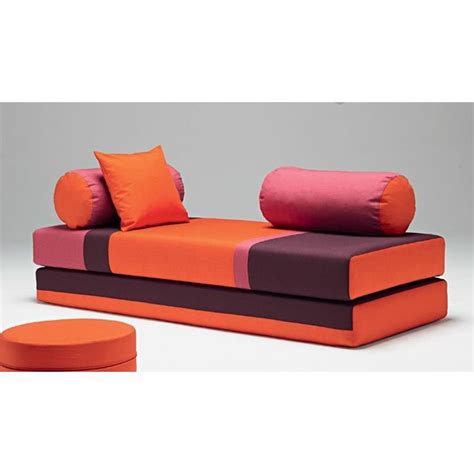 canapé orange dulox combo orange canapé convertible lit achat