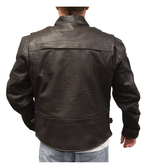 cowhide leather jackets redline mens cowhide leather touring motorcycle jacket w