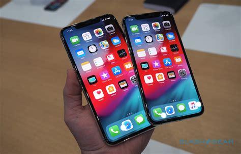 Iphone Xs Max And Iphone Xs Handson Slashgear