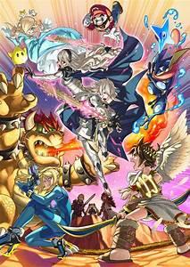 Super Smash Bros Wii U3DS Une Vido Pour Annoncer Du