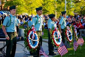 Citywide Crowd Attends First Memorial Day Remembrance ...