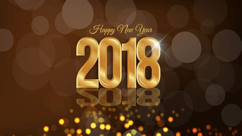 New Happy New Year 2018 Wallpaper (78+ Images
