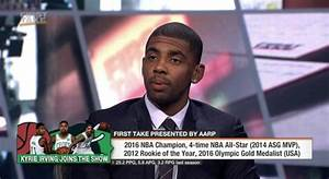 Kyrie Irving Doesn't Care If LeBron James' Feelings Are Hurt
