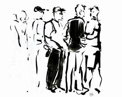 Sketching Sketches Barcelona Workshop Picasso Quick Dark