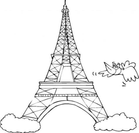 eiffel tower coloring pages coloringpages