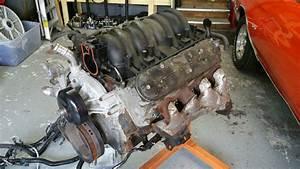 Lq4 6 0l V8 Engine W   Harness  Ecm And Ls1 Intake