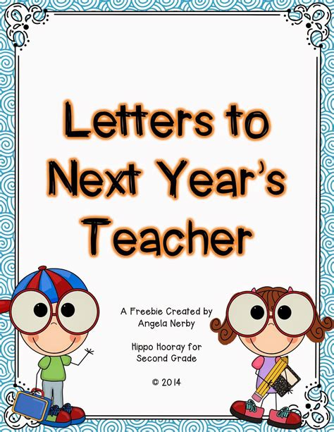 calm letters   years teacher