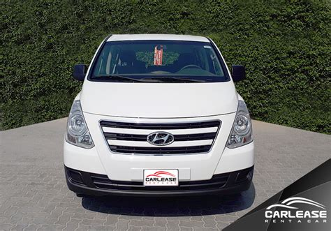 Review Hyundai H1 by Review Of The Hyundai H1 Gl Car Lease Rent A Car Uae