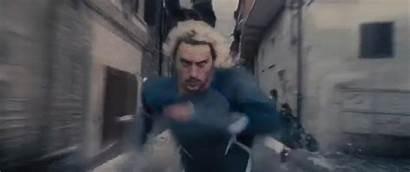 Quicksilver Mcu Speed Marvel Superhuman Running React