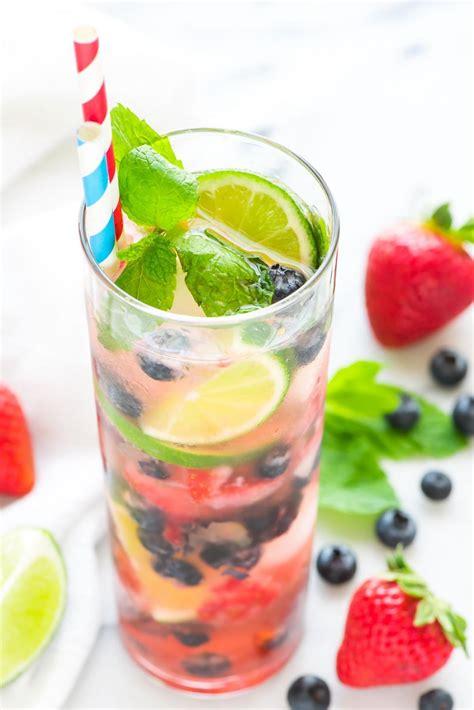 add blueberries   strawberry mojito recipe