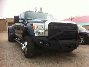 2011 550 Front Base Bumper With Fender Flare Adapters  U2013 Iron Bull Bumpers