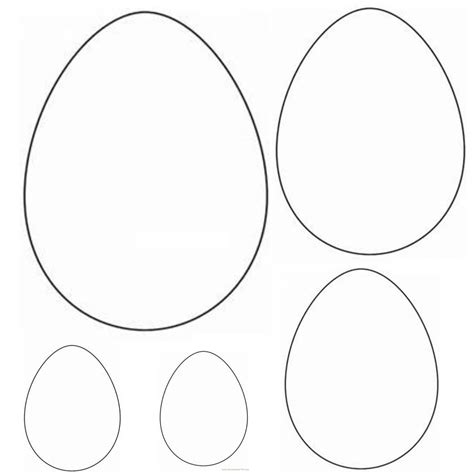 Small Easter Egg Template by Blogs Washi Easter Egg Tags