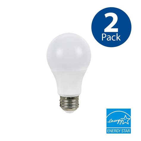 shop utilitech 2 pack 100w equivalent dimmable soft white