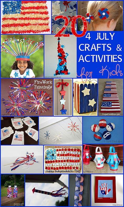 july crafts activities  kids