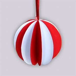 Boule De Noel A Fabriquer : boules de no l en papier ~ Nature-et-papiers.com Idées de Décoration
