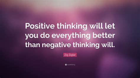 zig ziglar quote positive thinking