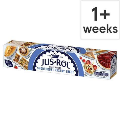 pastry puff tesco rolled ready jus rol shortcrust sheet 320g groceries zoom open previous