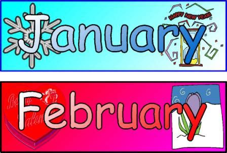 calendar headings cliparts   clip art