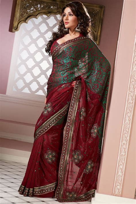 Latest Saree Designs and Patterns u2013 Designer Indian Outfits u2013 Traditional Indian Clothing