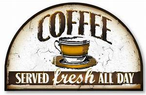 Vintage Style Coffee Sign Fairy-freckles com
