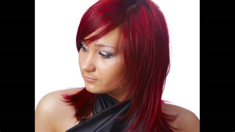 Chocolate Cherry Hair Color With Red Highlights Suggested