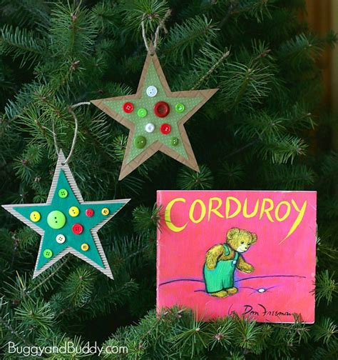 button star christmas ornament craft for kids inspired by