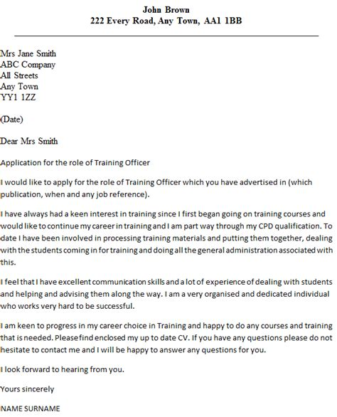 personal trainer cover letter sle my cover